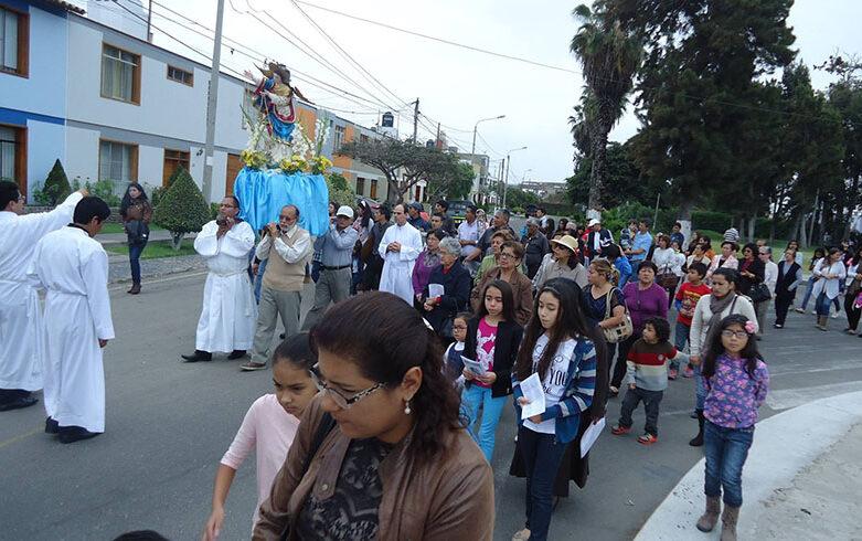 Zonas de la parroquia Virgen Fiel llevan nombre de los mártires