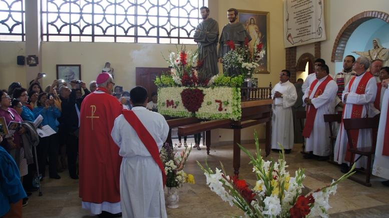 Fiesta de los Beatos Mártires de Pariacoto