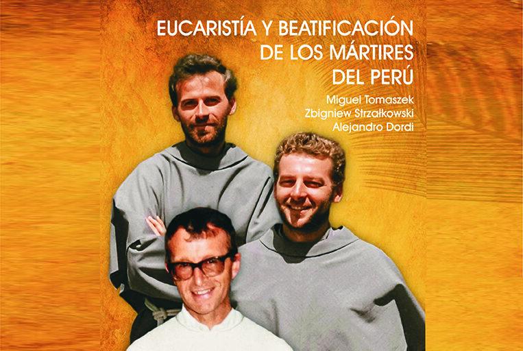 Libro litúrgico para ceremonia de beatificación de los mártires del Perú