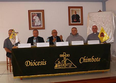 Conferencia de prensa sobre beatificación de los mártires de Chimbote