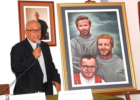 Fue presentada pintura oficial de la beatificación de mártires de Chimbote
