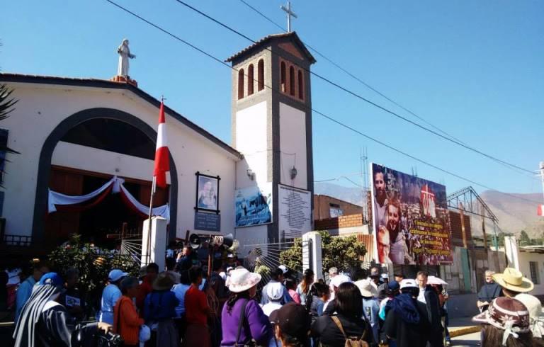 Pariacoto: actividades por la beatificación de frailes Miguel y Zbigniew