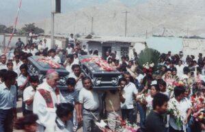 Entierro de los Mártires de Pariacoto