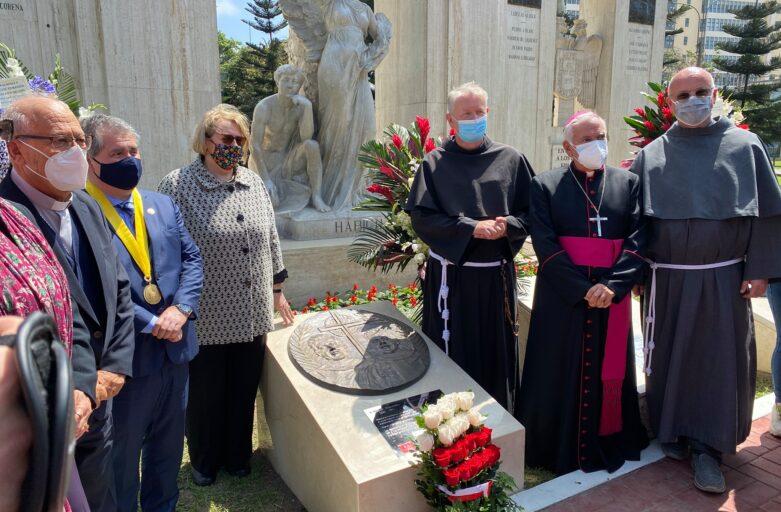 Inauguración de medallón dedicado a los Beatos Mártires de Pariacoto
